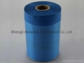 Outdoor Used Blue Paper Taped Masking Film 1