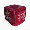 高档防水139L送餐箱配送箱电动车后备箱保温箱熟食运输送货箱尾箱 1