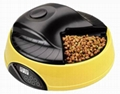 4 meal LCD automatic pet feeder pet food