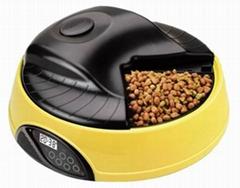 4 meal LCD automatic pet feeder pet food dispenser pet bowl
