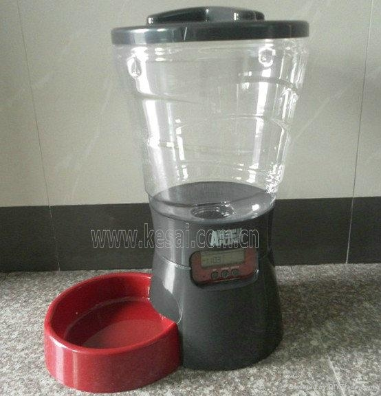 large capacity automatic pet feeder pet food dispenser 2