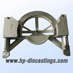 Wooden machine die casting parts