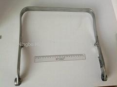 aluminum die casting fried pan handle