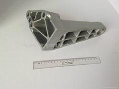 aluminum die casting rotating arm for car