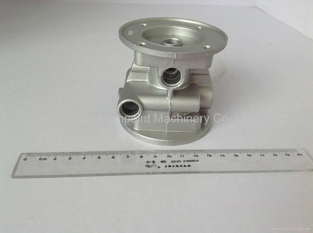 aluminum die casting CNG valve body 1