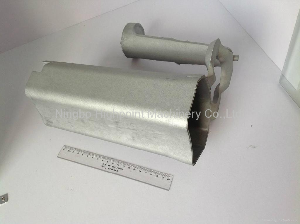 Aluminum Die Casting Silencer China Manufacturer Cast