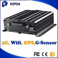 AHD 4ch 3g 4g wifi gprs gps hdd vehicle car school bus mobile dvr