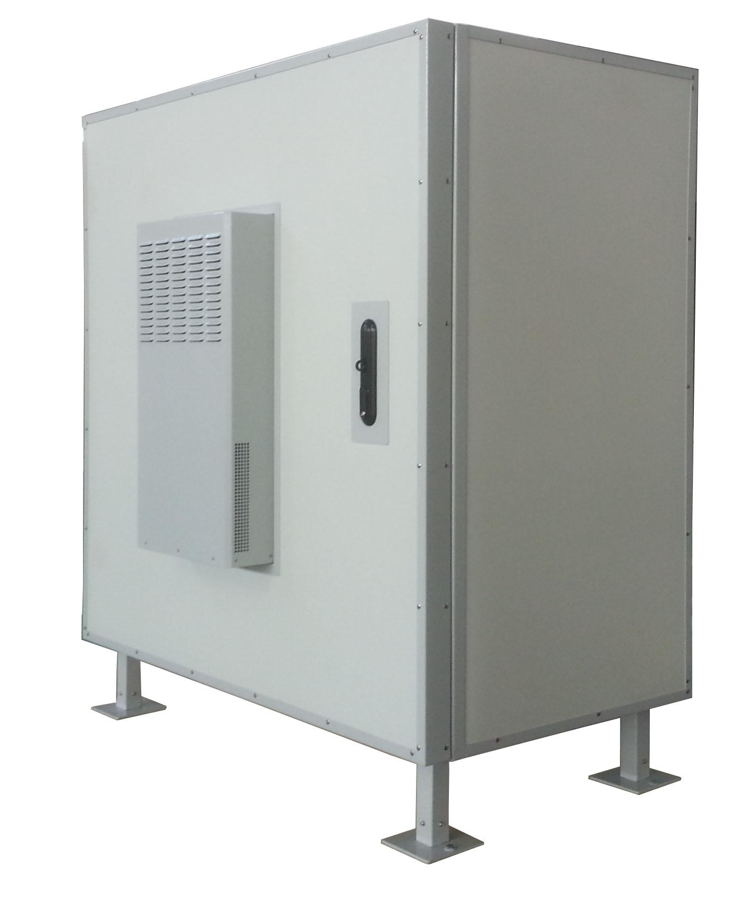 Industrial power cabinet non condensing water AC air conditioner 3