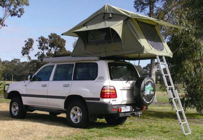 waterproof car roof top tent with awning 2