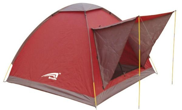 signal layer seam taped 3 person camping beach tent 4