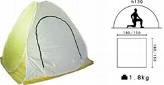 instant pop up winter ice fishing  tent