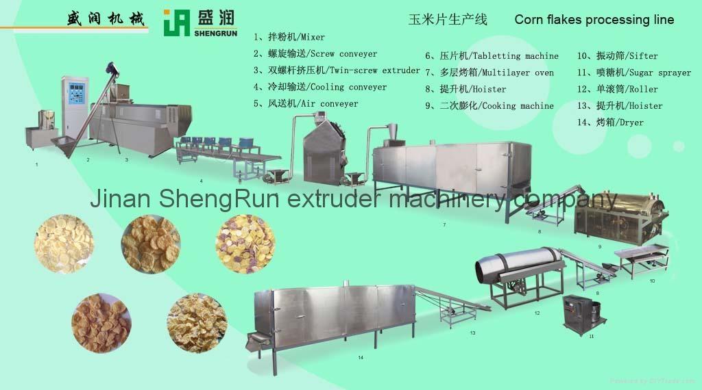 玉米片加工機械 1