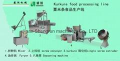 Kurkure Making Machine (cheese curls machine)、friction disc extruder