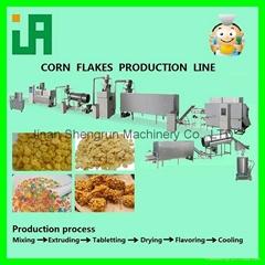 corn flakes/breakfast cereals machine