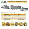 休閑食品膨化機生產線