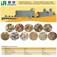 Textured Soya Protein/TVP/TSP Extrusion Making Machine