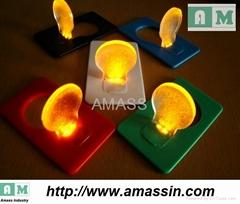 led pocket light with 5color