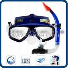 Underwater Digital Mask Camera