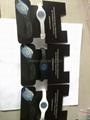 Black Hologram Power Balance Bracelets  2