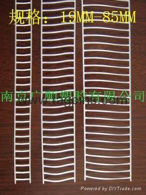 宽钉 弹性胶钉elastic staple绑带定位机用厂家弹性胶针  6