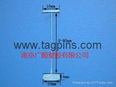 PP DOUBLE PIN  STABLE TAG FOR GARMENTS