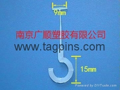 Hang tag hook, Semicircle hook, Garments hook
