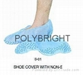 Disposable PE  and CPE and Non woven shoe cover