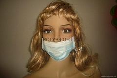 Disposable Non-woven caps,dust mask & 2- or 3-layer face mask