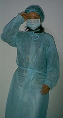 Disposable Non-woven gowns and protective clothes