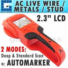 3in1 LCD Stud Detector Metal Voltage Cable Wood Finder