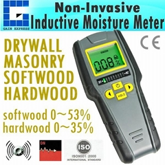 Digital 4-in-1 Inductive Wood Tree Timber Moisture Meter