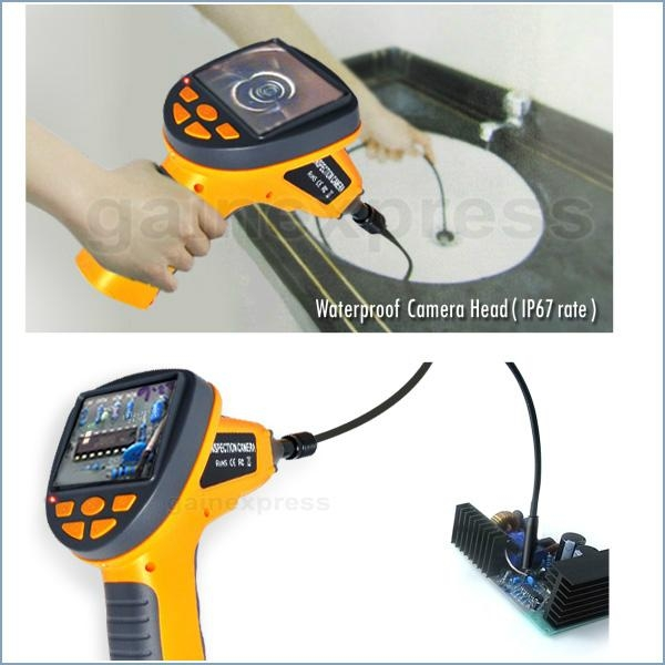 """Industrial 3.5"""" LCD Video Inspection Endoscope w/ 180° Rotation 3"""
