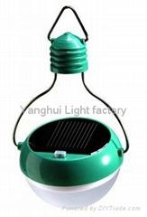 太阳能充电环保光控灯