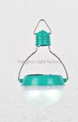 The World's ONLY solar light bulb