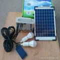Solar system lighting kit