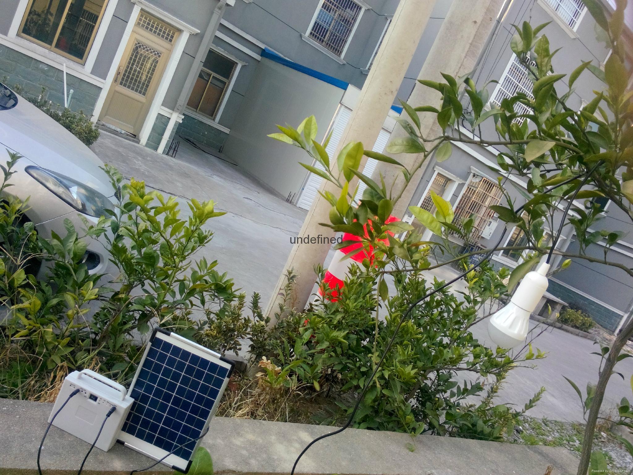 太阳能发电照明系统 2