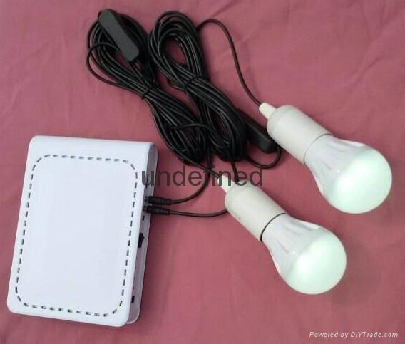 锂电池太阳能发电照明系统 3