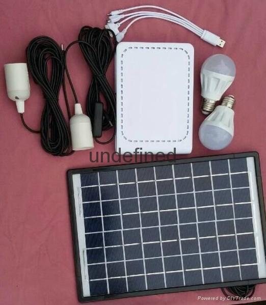 锂电池太阳能发电照明系统 2