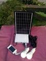 Lion Battery solar system lighting kit