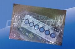 生產各種濕度顯示卡無鈷環保濕度敏感標籤真空防潮包裝專用濕度卡