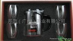 高檔禮盒裝邦田超能杯泡茶杯套裝