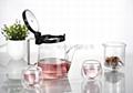 Glass teapots 3