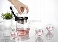 Glass teapots 4