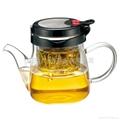 獨立內膽玻璃泡茶杯泡茶壺