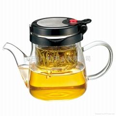 独立内胆玻璃泡茶杯泡茶壶
