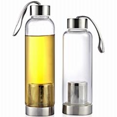Glass bottles & \Travel Presses