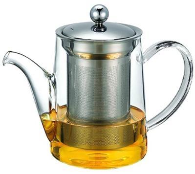 玻璃泡茶壶带不锈钢滤网 1