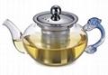玻璃泡茶壶带不锈钢滤网 2