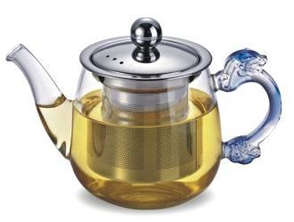 玻璃泡茶壶带不锈钢滤网 3