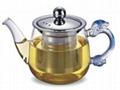 glass tea pot & glass tea sets 3